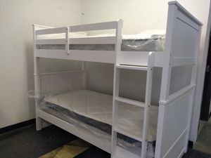 White Bunk bed set $295 for Sale in Columbus, OH