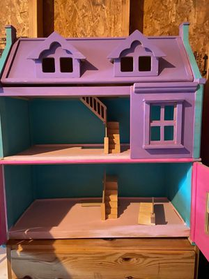 Wood doll house for Sale in Beaverton, OR