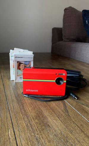 Polaroid Z2300 Digital Instant Print Camera w/Premium ZINK paper packs for Sale in Azalea Park, FL