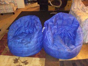 2 big joe Bean bag chairs for Sale in Abilene, TX