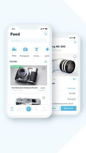 Free Camera Marketplace App for Sale in Hoboken, NJ