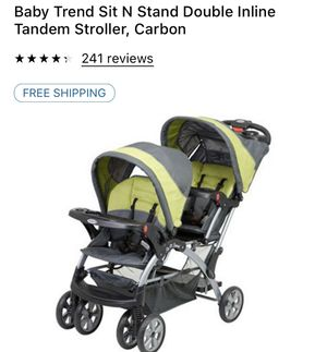 Brand new baby trend double stroller for Sale in Rochester, NY