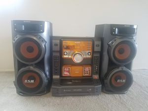 Sony Stereo System LBT ZX66i 5 Disc Changer for Sale in Seattle, WA