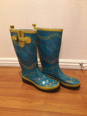 Women's Rain Boots Size 8 for Sale in San Diego, CA