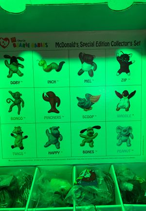 Ty teenie beanie babies mc Donald's special edition for Sale in Pflugerville, TX