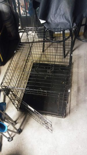 LARGE DOG CAGE for Sale in Buffalo, NY