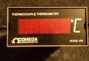 Thermocouple Thermometor Model 670 for Sale in Rustburg, VA