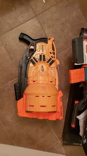The judge nerf gun opened. Never used.Lost the darts for Sale in Antioch, CA