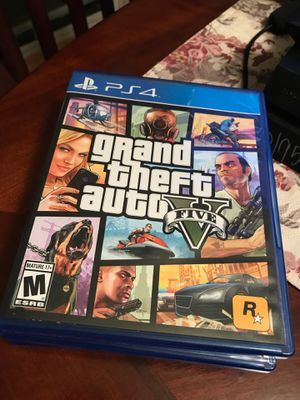 Grand Theft Auto 5 PS4 for Sale in Baldwin Park, CA