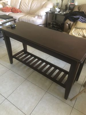 TV stand/ console table for Sale in Fort Lauderdale, FL