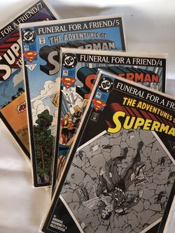 """Superman """"Funeral For A Friend"""" for Sale in Rosemead,  CA"""