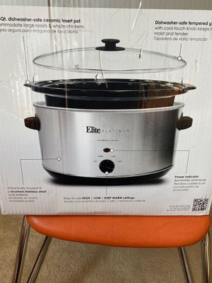 Maxi-Matic Stainless Steel Slow Cooker (brand new) for Sale in North Bethesda, MD