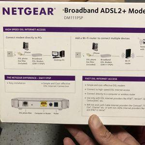 Netgear Broadband ADSL2+ Modem for Sale in Orlando, FL
