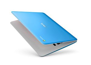 "ASUS C300 (C300SA-DH02-LB) Light Blue Chromebook Intel Celeron N3060 (1.60 GHz) 4 GB LPDDR3 Memory 16 GB eMMC 13.3"" Chrome OS for Sale in Pittsburgh, PA"