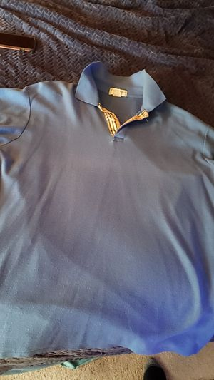 Burberry polo blue tee XL for Sale in Happy Valley, OR