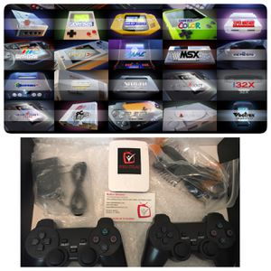 Retro Classic Gaming System 21,000 games loaded With 2 Wireless PS Game Controllers for Sale in Alafaya, FL