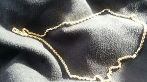 14k gold chain peru stamped patented tested for Sale in Colorado Springs, CO