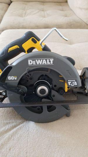 Brand new never used Dewalt Flexvolt Brushless 60v max circular saw. for Sale in El Cajon, CA