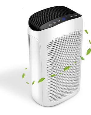 Air Choice 3-in-1 Air Purifier for home with Air Quality Auto Sensor, True HEPA Filter Cleaner for Allergies and Pets, Remove 99.97% Odor Eliminator for Sale in Alhambra, CA