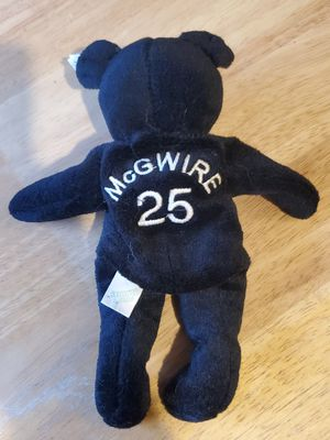 1998 Mark McGwire Salvino's bammers beanie baby bear for Sale in Columbus, OH