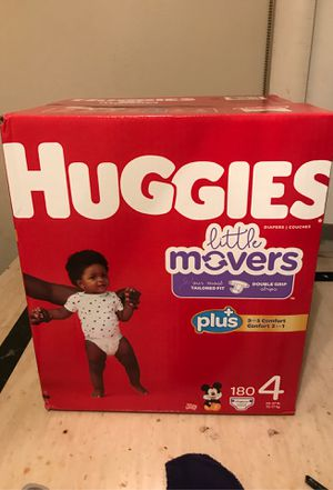180 count box of huggies for Sale in Euclid, OH