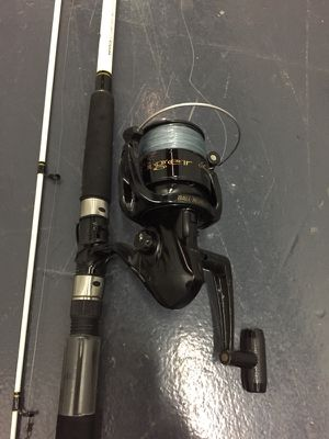 Used, 1- Shakespeare Fishing Pole with Spinning reel , Combo,has like 9 feet long , ready to use for Sale for sale  Elizabeth, NJ