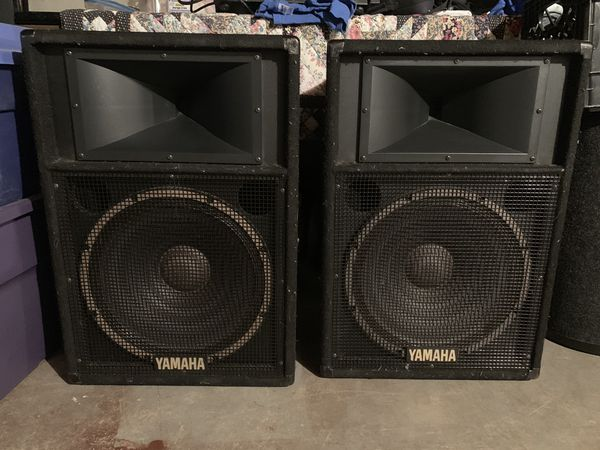 Yamaha DJ speakers