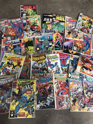 Comic books more than 100 for all $200 for Sale in Spring Valley, CA