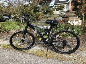 "Generic 26"" Hyper Havoc Full Suspension Men's Mountain Bike, Black for Sale in Seattle, WA"