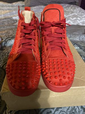 Christian louboutin size 10.5 only worn once for my bday for Sale in Denver, CO