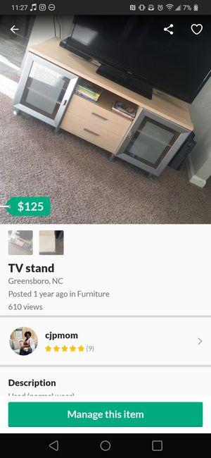 Entertainment TV stand for Sale in Marietta, GA