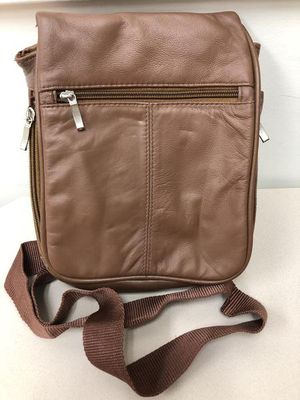 Buxton Genuine Leather Crossbody Shoulder Backpack Hand Bag Purse Dark Brown unisex for Sale in Archdale, NC