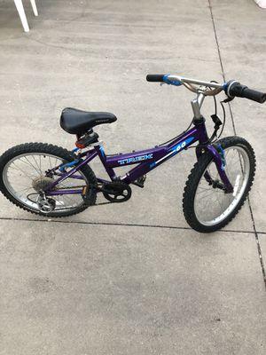 "Girls mountain bike 20"" trek for Sale in Round Rock, TX"