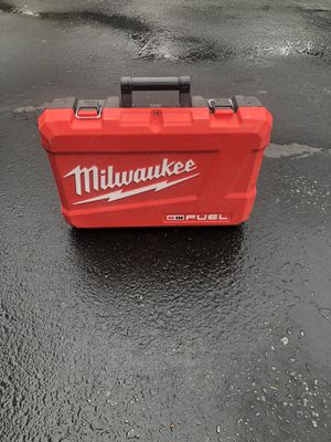 Milwaukee box for hummer drill and impact 3 gen for Sale in Costa Mesa, CA