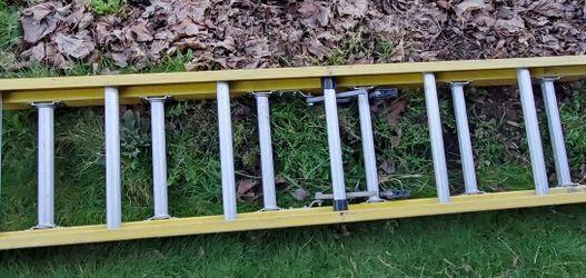 Louisville Ladder 16' Fiberglass Extension Ladder, 15' Reach, 375 lbs Load Capacity, FE4216HD No Offers for Sale in Seattle,  WA