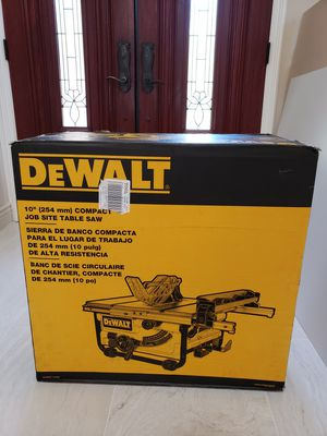 DeWalt Table Saw, DWE7480, Brand New / Factory Sealed Box!! for Sale in Laguna Beach, CA