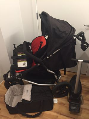 Mountain Buggy Plus One double Stroller Jogger + Scooter for Sale in Portland, OR