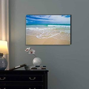 ((FREE SHIPPING)) romantic scene of sea waves on the tropical hawaii beach   modern wall decor/home decoration stretched gallery Painting like print for Sale in Sunnyvale, CA