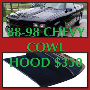 1988-1998 Chevy Cowl Hood for Sale in Santa Monica, CA