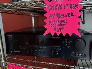 Onkyo HT R520 AV Receiver for Sale in Pompano Beach, FL