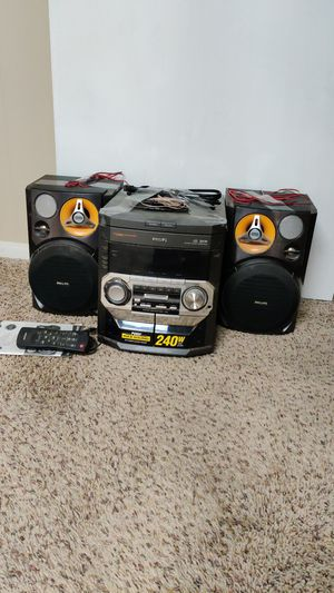 Philips Mini HIFI System for Sale in Arvada, CO