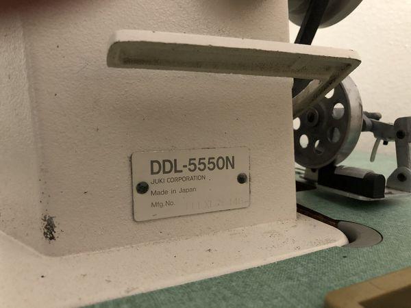 JUKI DDL 5550N