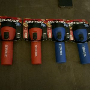 3 brand new Eveready LED Flashlights with batteries included - $10 or best offer for Sale in Weston, FL
