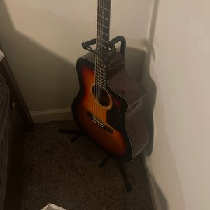 Acoustic Guitar With Guitar Case for Sale in Los Angeles, CA