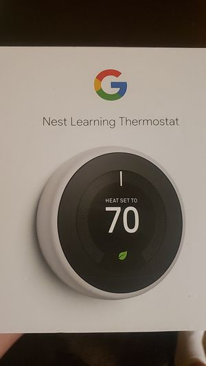 Google Nest thermostat for Sale in Aurora, CO