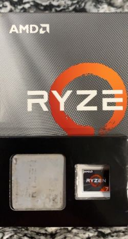 Ryzen 7 2700X 8-Core Processor + RGB CPU Cooler for Sale in Hutto,  TX