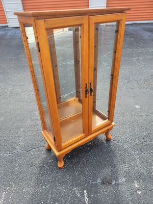 Vintage French Multi-Functional Glass Cabinet for Sale in Orlando, FL