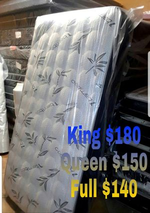 New Bamboo mattress set for Sale in Glendale, AZ