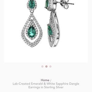 Emerald Earrings New In Box! for Sale in San Tan Valley, AZ