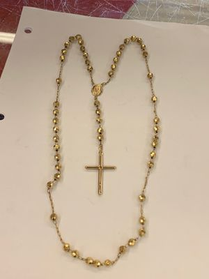 28.4 g 10 kt Rosary 26 inch for Sale in Dallas, TX